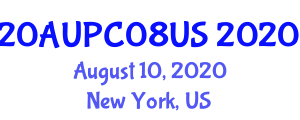 International Architecture and Urban Planning Conference (20AUPC08US) August 10, 2020 - New York, United States