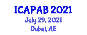 International Conference on Abnormal Psychology and Antisocial Behavior (ICAPAB) July 29, 2021 - Dubai, United Arab Emirates