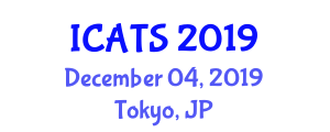 International Conference on Accessible Tourism and Sustainability (ICATS) December 04, 2019 - Tokyo, Japan
