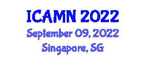 International Conference on Addiction Medicine and Neuropsychiatry (ICAMN) September 09, 2022 - Singapore, Singapore