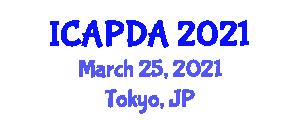 International Conference on Addiction Psychology and Drug Addiction (ICAPDA) March 25, 2021 - Tokyo, Japan
