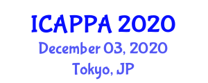 International Conference on Addiction Psychopharmacology and Pharmacotherapy Approaches (ICAPPA) December 03, 2020 - Tokyo, Japan
