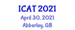 International Conference on Addiction Therapy (ICAT) April 30, 2021 - Abberley, United Kingdom