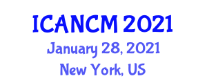 International Conference on Addictions Nursing and Clinical Management (ICANCM) January 28, 2021 - New York, United States