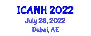 International Conference on Addictions Nursing and Healthcare (ICANH) July 28, 2022 - Dubai, United Arab Emirates