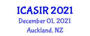 International Conference on Administrative Science and International Relations (ICASIR) December 01, 2021 - Auckland, New Zealand