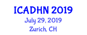 International Conference on Adolescent Health and Nursing ICADHN on