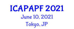 International Conference on Adolescent Physical Activity and Physical Fitness (ICAPAPF) June 10, 2021 - Tokyo, Japan