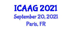 International Conference on Advanced Animal Genetics (ICAAG) September 20, 2021 - Paris, France