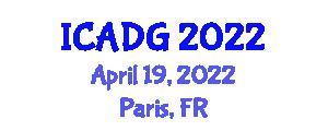 International Conference on Advanced Digital Geography (ICADG) April 19, 2022 - Paris, France