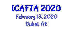 International Conference on Advanced Fiber Technologies and Applications (ICAFTA) February 13, 2020 - Dubai, United Arab Emirates