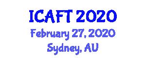 International Conference on Advanced Fiber Technologies (ICAFT) February 27, 2020 - Sydney, Australia