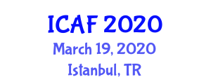 International Conference on Advanced Fibers (ICAF) March 19, 2020 - Istanbul, Turkey