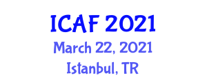 International Conference on Advanced Fibers (ICAF) March 22, 2021 - Istanbul, Turkey