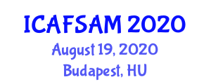 International Conference on Advanced Food Science, Additives and Micronutrients (ICAFSAM) August 19, 2020 - Budapest, Hungary