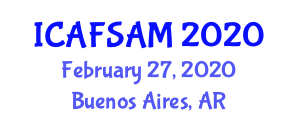 International Conference on Advanced Food Science, Additives and Micronutrients (ICAFSAM) February 27, 2020 - Buenos Aires, Argentina