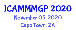International Conference on Advanced Medical Microbiology, Microbial Growth and Physiology (ICAMMMGP) November 05, 2020 - Cape Town, South Africa