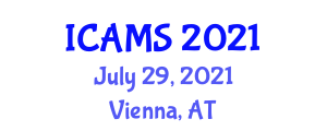 International Conference on Advanced Mine Seismology (ICAMS) July 29, 2021 - Vienna, Austria