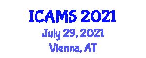 International Conference on Advanced Mine Seismology (ICAMS) July 29, 2021 - Vienna, Austria