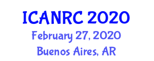 International Conference on Advanced Nanofiber Reinforced Composites (ICANRC) February 27, 2020 - Buenos Aires, Argentina