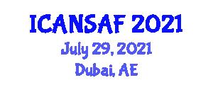 International Conference on Advanced Nutritional Strategies and Animal Feed (ICANSAF) July 29, 2021 - Dubai, United Arab Emirates