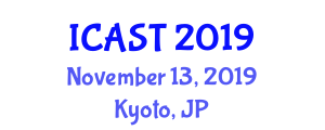 International Conference on Advanced Sea Transportation (ICAST) November 13, 2019 - Kyoto, Japan