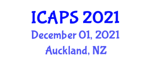 International Conference on Advancements in Pediatric Surgery (ICAPS) December 01, 2021 - Auckland, New Zealand
