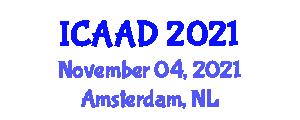 International Conference on Advances in Alzheimer's Disease (ICAAD) November 04, 2021 - Amsterdam, Netherlands