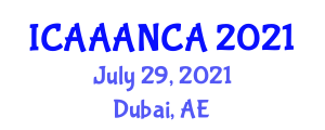 International Conference on Advances in Animal Anatomy and New Companion Animals (ICAAANCA) July 29, 2021 - Dubai, United Arab Emirates