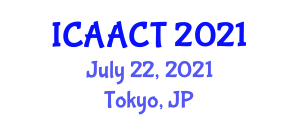 International Conference on Advances in Animal Cell Technologies (ICAACT) July 22, 2021 - Tokyo, Japan