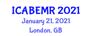International Conference on Advances in Biomedical Engineering and Medical Robotics (ICABEMR) January 21, 2021 - London, United Kingdom