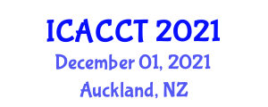 International Conference on Advances in Climate Change Technologies (ICACCT) December 01, 2021 - Auckland, New Zealand