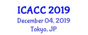 International Conference on Advances in Coordination Chemistry (ICACC) December 04, 2019 - Tokyo, Japan