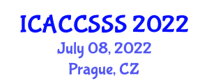 International Conference on Advances in Cryptology, Computer Security, and Security Systems (ICACCSSS) July 08, 2022 - Prague, Czechia
