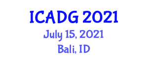 International Conference on Advances in Digital Geography (ICADG) July 15, 2021 - Bali, Indonesia