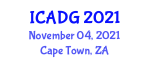International Conference on Advances in Digital Geography (ICADG) November 04, 2021 - Cape Town, South Africa