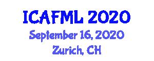 International Conference on Advances in Fiber Metal Laminates (ICAFML) September 16, 2020 - Zurich, Switzerland