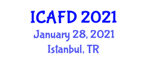 International Conference on Advances in Food Design (ICAFD) January 28, 2021 - Istanbul, Turkey