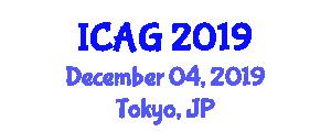 International Conference on Advances in Geomathematics (ICAG) December 04, 2019 - Tokyo, Japan