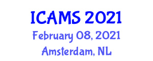International Conference on Advances in Mine Seismology (ICAMS) February 08, 2021 - Amsterdam, Netherlands