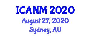 International Conference on Advances in Nanofiber Materials (ICANM) August 27, 2020 - Sydney, Australia