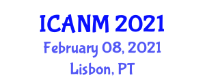 International Conference on Advances in Nanofiber Materials (ICANM) February 08, 2021 - Lisbon, Portugal