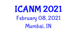 International Conference on Advances in Nanofiber Materials (ICANM) February 08, 2021 - Mumbai, India