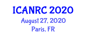 International Conference on Advances in Nanofiber Reinforced Composites (ICANRC) August 27, 2020 - Paris, France