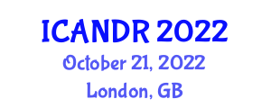 International Conference on Advances in Networked and Distributed Robotics (ICANDR) October 21, 2022 - London, United Kingdom