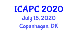 International Conference on Advances in Porphyrin Chemistry (ICAPC) July 15, 2020 - Copenhagen, Denmark