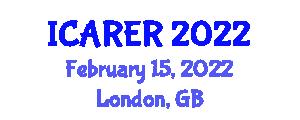 International Conference on Advances in Robotics and Evolutionary Robotics (ICARER) February 15, 2022 - London, United Kingdom