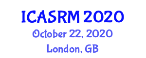 International Conference on Advances in Space Robotics and Mechatronics (ICASRM) October 22, 2020 - London, United Kingdom