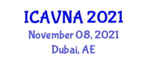 International Conference on Advances in Veterinary Nephrology and Applications (ICAVNA) November 08, 2021 - Dubai, United Arab Emirates