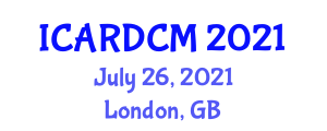 International Conference on Aerial Robotics, Design, Control and Manipulation (ICARDCM) July 26, 2021 - London, United Kingdom